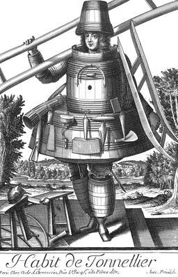 Habit de tonnelier au 17ème siècle. Source : http://data.abuledu.org/URI/592a4598-habit-de-tonnelier-au-17eme-siecle
