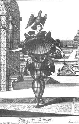 Habit de vannier au 17ème siècle. Source : http://data.abuledu.org/URI/592a43ec-habit-de-vannier-au-17eme-siecle