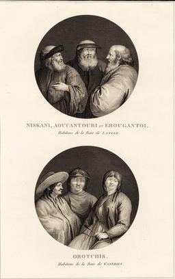 Habitants de Mandchourie en 1797. Source : http://data.abuledu.org/URI/599108c7-habitants-de-mandchourie-en-1797