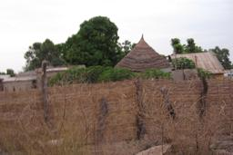 Habitat traditionnel en Casamance. Source : http://data.abuledu.org/URI/549354f3-habitat-traditionnel-en-casamance