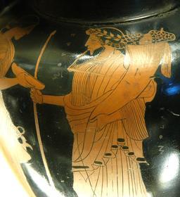 Hadès et sa corne d'abondance. Source : http://data.abuledu.org/URI/573d2316-hades-et-sa-corne-d-abondance