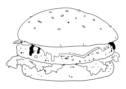 Hamburger. Source : http://data.abuledu.org/URI/50268e21-hamburger