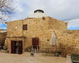 Hammam Omeriye à Nicosie. Source : http://data.abuledu.org/URI/58ce2979-hammam-omeriye-a-nicosie
