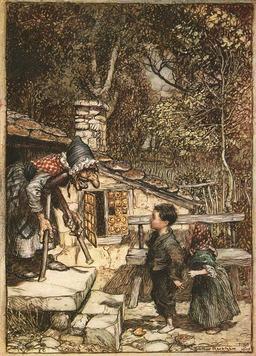 Hansel et Gretel. Source : http://data.abuledu.org/URI/47f5d085-hansel-et-gretel