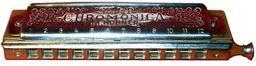 Harmonica chromatique. Source : http://data.abuledu.org/URI/50ec46a7-harmonica-chromatique