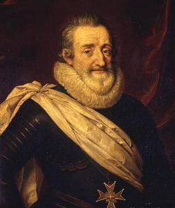Portrait d'Henri IV. Source : http://data.abuledu.org/URI/50ec3648-henri-iv