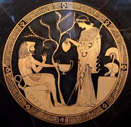 Héraclès et Athéna. Source : http://data.abuledu.org/URI/506330f2-heracles-et-athena