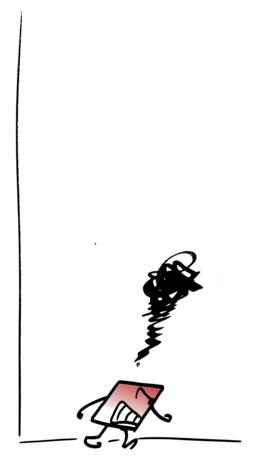 Hervé le carré est furieux de son échec. Source : http://data.abuledu.org/URI/54ac73fb-herve-le-carre-est-furieux-de-son-echec