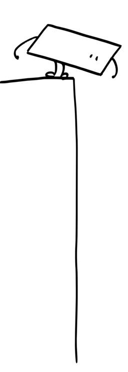 Hervé le carré réfléchit avant de sauter. Source : http://data.abuledu.org/URI/54ac72b3-herve-le-carre-reflechit-avant-de-sauter
