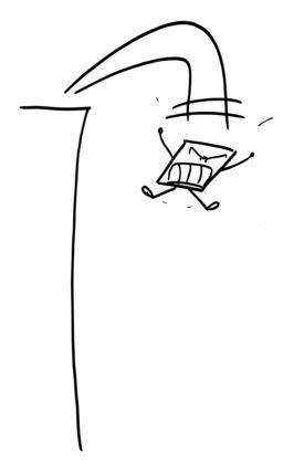 Hervé le carré saute en hurlant. Source : http://data.abuledu.org/URI/54ac7521-herve-le-carre-saute-en-hurlant