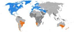 Heure d'été dans le monde en 2011. Source : http://data.abuledu.org/URI/52b8acb2-heure-d-ete-dans-le-monde-en-2011