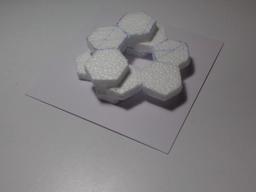Hexagones. Source : http://data.abuledu.org/URI/517fe801-hexagones