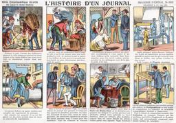 Histoire d'un journal en vignettes - 01. Source : http://data.abuledu.org/URI/546fcd1f-histoire-d-un-journal-en-vignettes-01