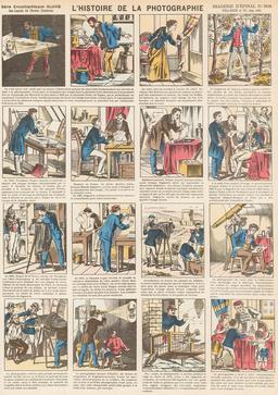 Histoire de la photographie en seize vignettes. Source : http://data.abuledu.org/URI/546fe3cc-histoire-de-la-photographie-en-seize-vignettes