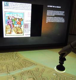 Histoire des quartiers bordelais à la Cité du Vin. Source : http://data.abuledu.org/URI/59f2cd9d-histoire-des-quartiers-bordelais-a-la-cite-du-vin