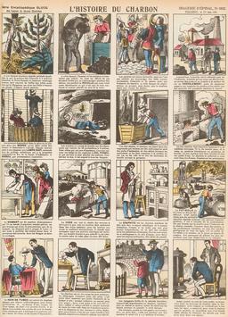 Histoire du charbon en seize vignettes. Source : http://data.abuledu.org/URI/546fca18-histoire-du-charbon-en-seize-vignettes