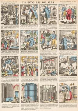 Histoire du gaz en seize vignettes. Source : http://data.abuledu.org/URI/546fe14a-histoire-du-gaz-en-seize-vignettes