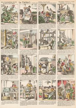 Histoire du tabac en seize vignettes. Source : http://data.abuledu.org/URI/546fdfbd-histoire-du-tabac-en-seize-vignettes