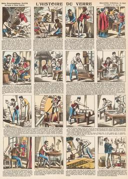 Histoire du verre en seize vignettes. Source : http://data.abuledu.org/URI/546fe239-histoire-du-verre-en-seize-vignettes
