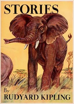 Histoires comme ça, couverture. Source : http://data.abuledu.org/URI/5489aac1-histoires-comme-ca-couverture