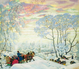 Hiver russe en 1916. Source : http://data.abuledu.org/URI/54db6b08-hiver-russe-en-1916