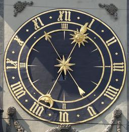 Horloge astronomique de Zytglogge à Berne. Source : http://data.abuledu.org/URI/529a3fab-horloge-astronomique-de-zytglogge-a-berne