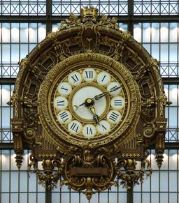 Horloge du Musée D'Orsay. Source : http://data.abuledu.org/URI/529afd85-horloge-du-musee-d-orsay