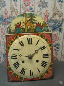 Horloge en bois peint de la Forêt-Noire. Source : http://data.abuledu.org/URI/529a4538-horloge-en-bois-peint-de-la-foret-noire