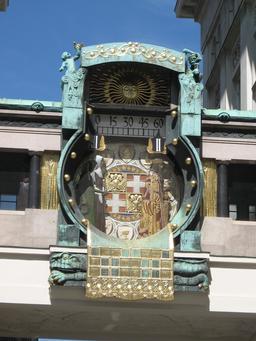 Horloge sans aiguille à Vienne. Source : http://data.abuledu.org/URI/529a606f-horloge-sans-aiguille-a-vienne