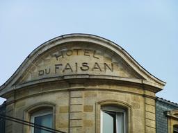Hôtel du Faisan à Bordeaux. Source : http://data.abuledu.org/URI/58210efc-hotel-du-faisan-a-bordeaux