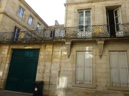Hôtel particulier à Bordeaux. Source : http://data.abuledu.org/URI/5826f02d-hotel-particulier-a-bordeaux