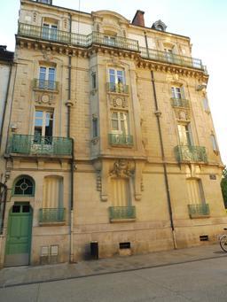 Hôtel particulier à Dijon. Source : http://data.abuledu.org/URI/59262d86-hotel-particulier-a-dijon