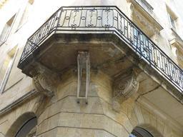 Hôtel particulier de La droguerie à Bordeaux. Source : http://data.abuledu.org/URI/5826f21d-hotel-particulier-de-la-droguerie-a-bordeaux