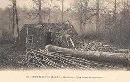 Hutte de bûcheron. Source : http://data.abuledu.org/URI/51562c10-hutte-de-bucheron