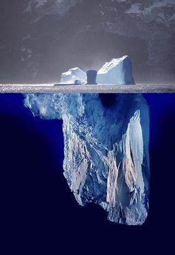 Iceberg de haut en bas. Source : http://data.abuledu.org/URI/50bd031a-iceberg-de-haut-en-bas
