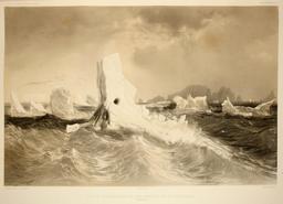 Icebergs en 1838. Source : http://data.abuledu.org/URI/59804584-icebergs-en-1838