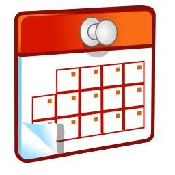 Icone de calendrier. Source : http://data.abuledu.org/URI/50d6fe31-icone-de-calendrier