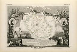 Ile de la Réunion en 1854. Source : http://data.abuledu.org/URI/52193ad5-ile-de-la-reunion-en-1854