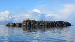 Île Elliðaey et son phare en Islande.. Source : http://data.abuledu.org/URI/5935de9a-ile-elli-aey-et-son-phare-en-islande-