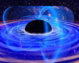 Image d'un trou noir. Source : http://data.abuledu.org/URI/52c42788-image-d-un-trou-noir