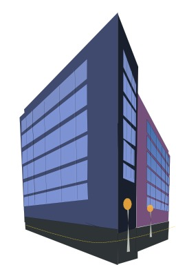Immeuble de bureaux. Source : http://data.abuledu.org/URI/504af064-immeuble-de-bureaux
