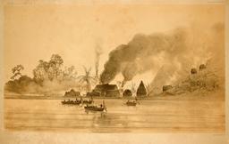 Incendie en Polynésie en 1838. Source : http://data.abuledu.org/URI/5980b025-incendie-en-polynesie-en-1838