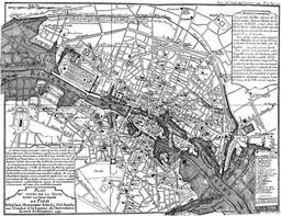 Inondations à Paris en 1740. Source : http://data.abuledu.org/URI/51422a6c-inondations-a-paris-en-1740
