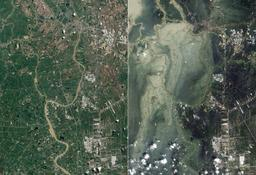 Inondations de 2011 en Thailande. Source : http://data.abuledu.org/URI/52b0ac4f-inondations-de-2011-en-thailande