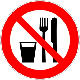 Interdiction de manger et de boire. Source : http://data.abuledu.org/URI/51bf5ebc-interdiction-de-manger-et-de-boire