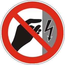 Interdiction de toucher, boitier sous tension. Source : http://data.abuledu.org/URI/51bf5bfd-interdiction-de-toucher-boitier-sous-tension