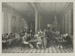Intérieur de café à la Galerie du Palais-Royal. Source : http://data.abuledu.org/URI/51d96d5c-interieur-de-cafe-a-la-galerie-du-palais-royal