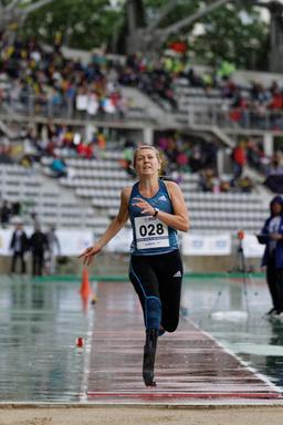 Iris Pruysen au Meeting d'Athlétisme Paralympique de Paris. Source : http://data.abuledu.org/URI/54542afc-iris-pruysen-au-meeting-d-athletisme-paralympique-de-paris