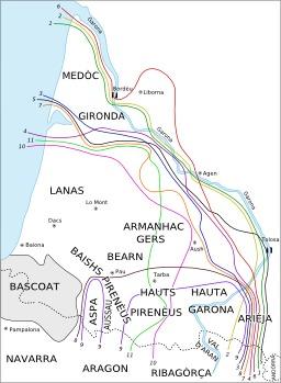 Isoglosses du gascon. Source : http://data.abuledu.org/URI/52912d68-isoglosses-du-gascon