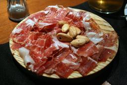Jambon aux amandes. Source : http://data.abuledu.org/URI/54e8dc50-jambon-aux-amandes